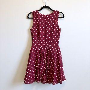 Anthropologie Dresses - Polka Dot Dress
